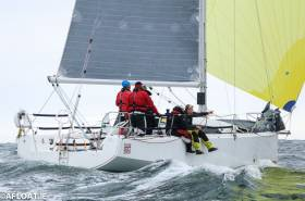 Sunfast 3600 Hot Cookie (John O'Gorman) from the National Yacht Club was second in DBSC Cruiser 0 IRC