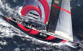 America's Cup monohull Alinghi in 2003. After three different challenges in which multi-hulls have been used, the word is that current holders New Zealand will be defending in mono-hulls.