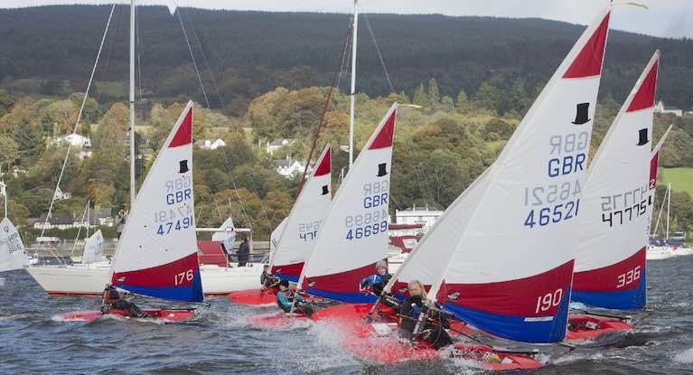 Toppers will race at the RYA NI youth championships