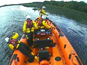 Carrybridge RNLI at Naan Island on Sunday 4 August