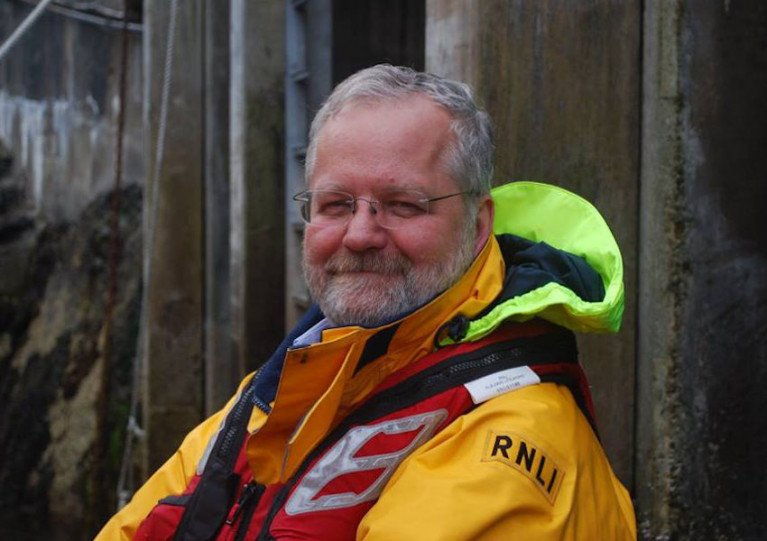 Oban RNLI volunteer Dr Colin Wilson is stepping down