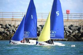 UCD Sailing Club Host 'Movember' Team Racing Event at Royal Irish Yacht Club