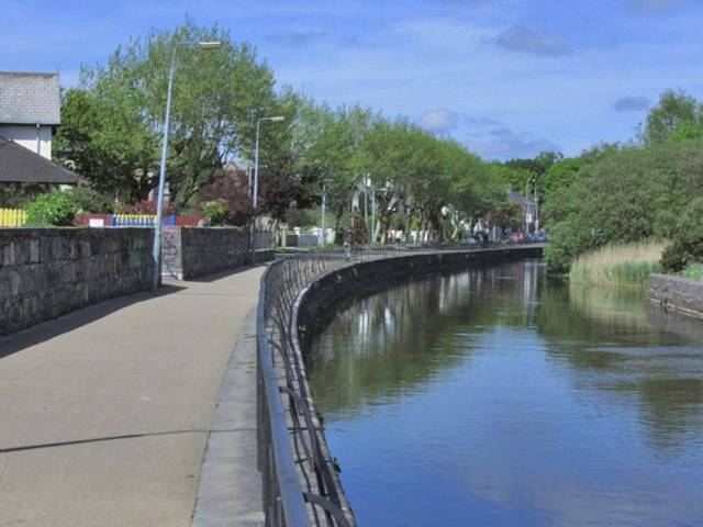 The Eglinton Canal in Galway city