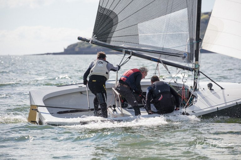 11-boats contested the National 18 Southern Championships at Royal Cork Yacht Club. See slideshow below