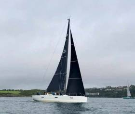 Conor Doyle's Freya from Kinsale Yacht Club
