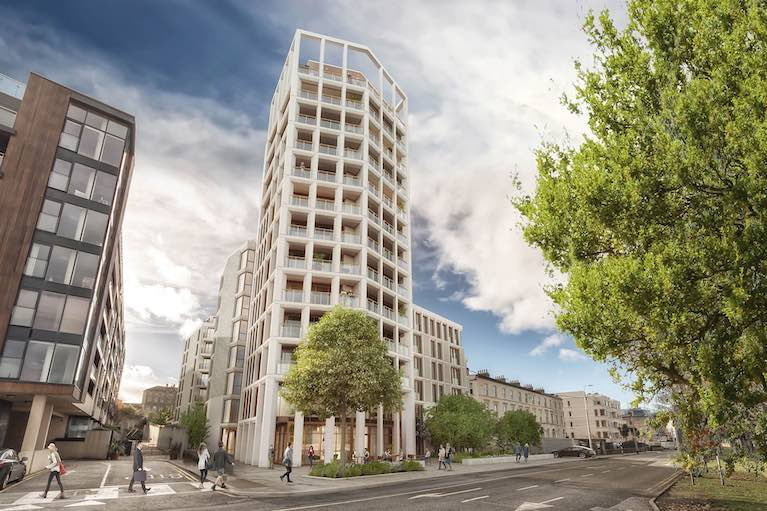 They'll need to be extra-lucky – the proposed 13 story development on the Dun Laoghaire harbour front