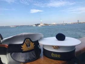Serving members of the Irish Naval Service who spend at least 80 days at sea will be eligible