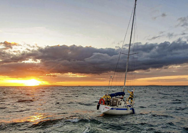 Howth Lifeboat Rescues Lone Yachtsman Stranded In Irish Sea