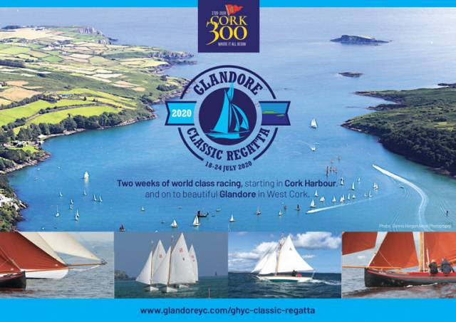 The front cover of the Glandore Classics Brochure for 2020