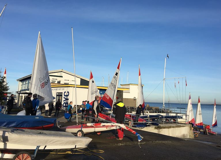 Cadet Sailing Event at Ballyholme Before New COVID Restrictions Begin in Northern Ireland