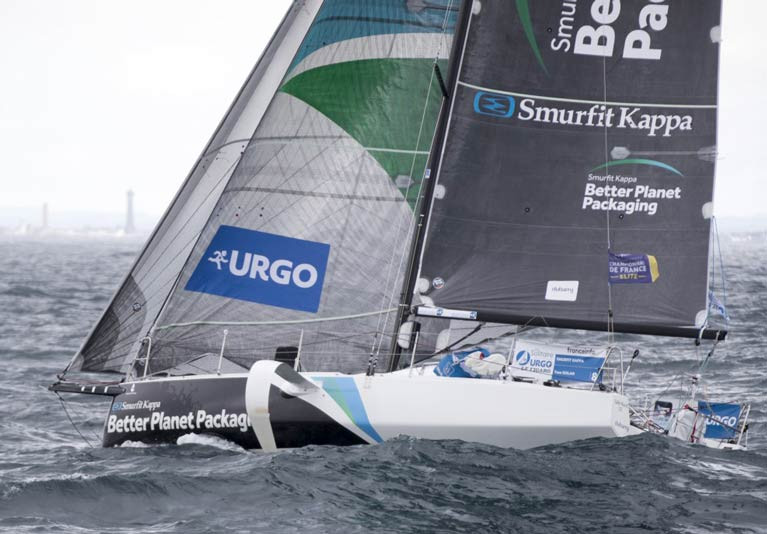 Tom Dolan is racing in the Solo Concarneau this weekend