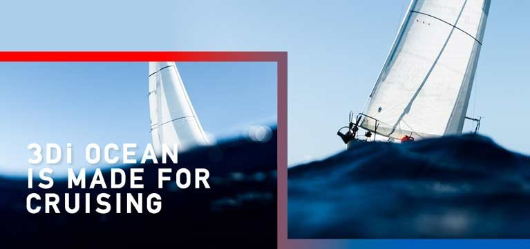 3Di Cruising Sails have been launched in Ireland by North Sails