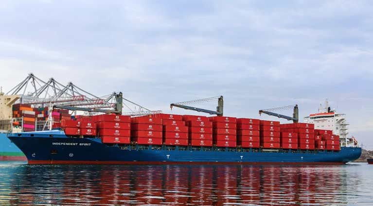 Independent Container Line (ICL) cargo ship Independent Spirit