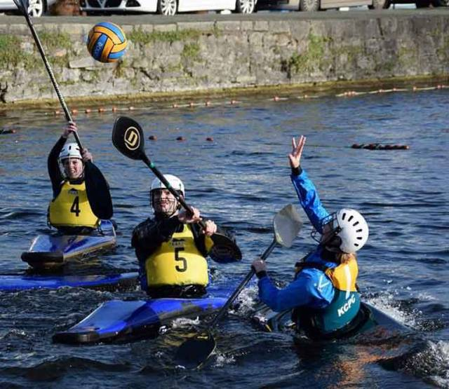 Kilcock Hosts National Canoe Polo Junior Competition