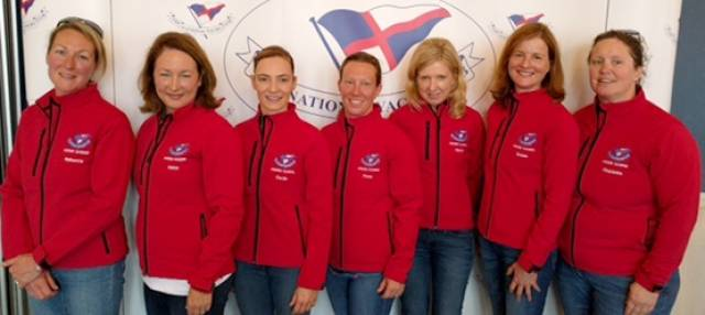 1720 NYC Team comprised skipper: Fiona Staunton, Helen Cooney, Susan Spain, Cecile Van Steenberge, Charlotte O Kelly, Rebecca Hall, Niamh O'Regan