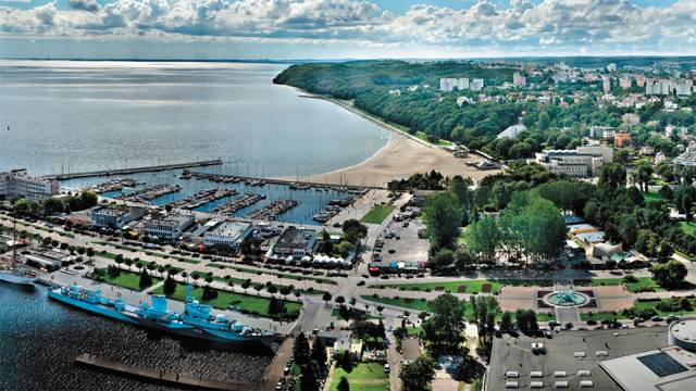 The 2019 Youth Worlds will be held out of Marina Gdynia which is close to the city centre