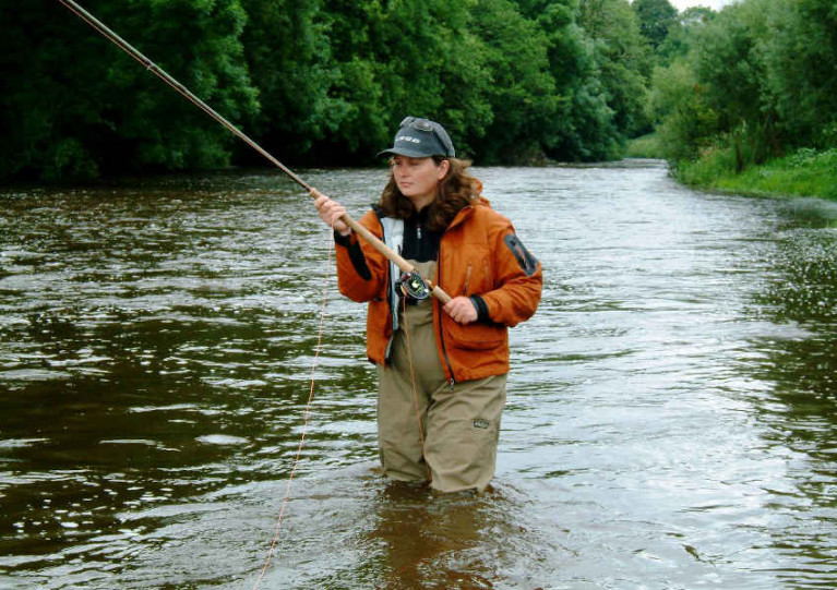 Renowned angler and fly-casting instructor Glenda Powell will teach participants around various venues from April to September