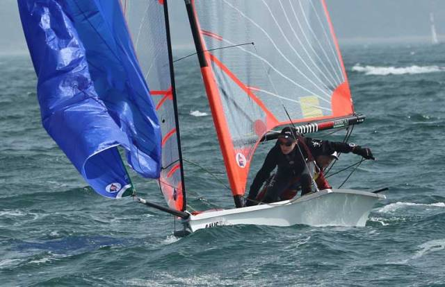 Irish Youth Sailors Medal at RYA Youth Nationals 2019
