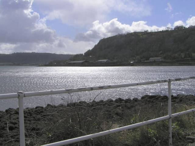 Larne Lough in Co Antrim