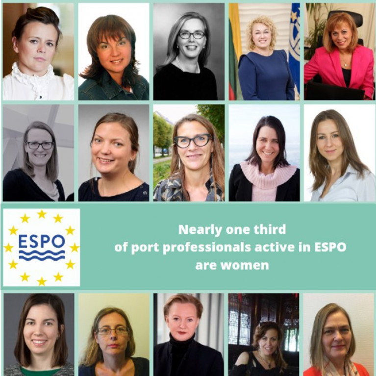 European Sea Ports Organisation (ESPO) publishes statistics for committee meeting gender balance for 2019.