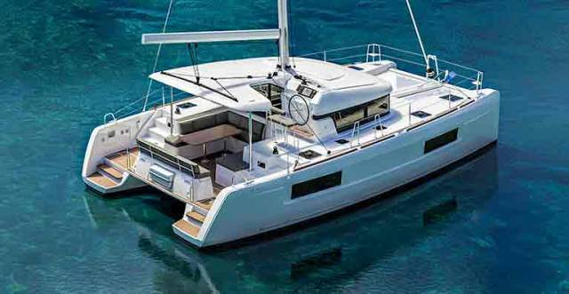 The new Lagoon 40 is available with three or four cabins