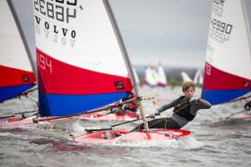 Topper action - the Topper enables young dinghy sailors to develop their racing talent