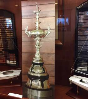 The Southern Yacht Club in New Orleans now has their cherished Lipton Trophy once again
