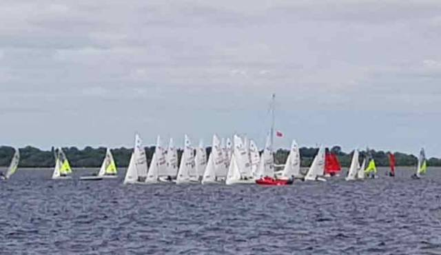 420 Girl Crews in Top Form at Lough Ree Yacht Club Connaught Champs