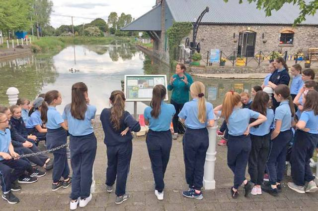 Hundreds of School Children Take Part In 2019 Biodiversity Week Programmes On Ireland's Waterways