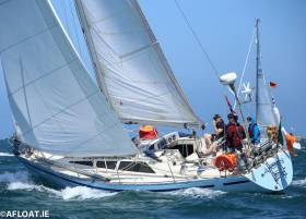 Keith Miller's Andante a Yamaha 36c from Wexford is competing in the Fastnet Race for the first time