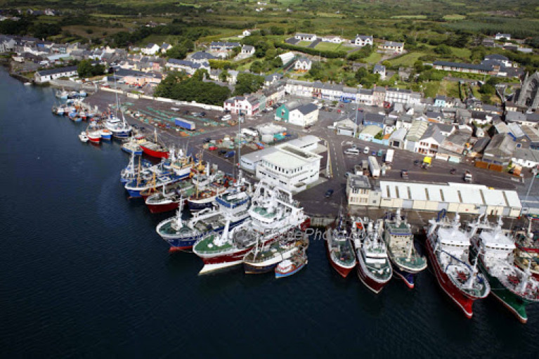 The Castletownbere fishing fleet in West Cork. The Irish fishing industry is worth €1.2 billion per annum to the economy