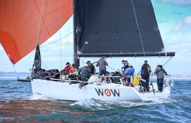 George Sisk's Farr 42 WOW! Gets a Makeover for 2018 Sailing Season