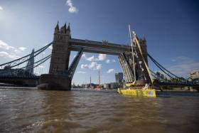 After leaving London on Sunday afternoon, the race will officially begin from the Thames Estuary today (Monday 2 September)