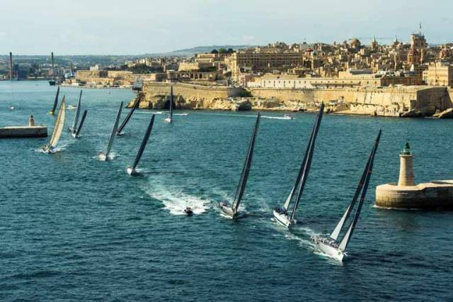 The Rolex Middle Sea Race course record has been broken on five occasions since the inaugural edition in 1968. The current record of 47 hours 55 minutes was established in 2007 by George David and his, then, 90-foot Rambler