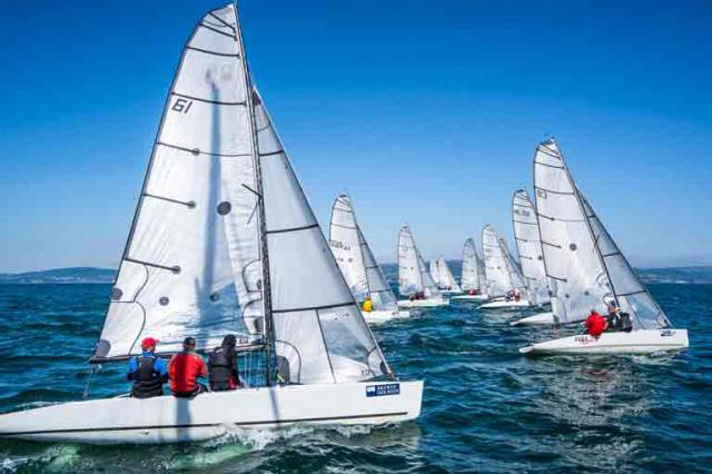 RS Elite start on Belfast Lough