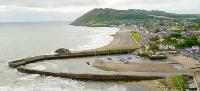 Bray Harbour silt–up problems in County Wicklow