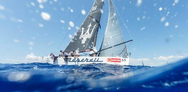 The HYC team are swapping their usual Corby 27 for the Mark Mills design DK46 Maserati Hydra in the Mediterranean's oldest offshore race next month