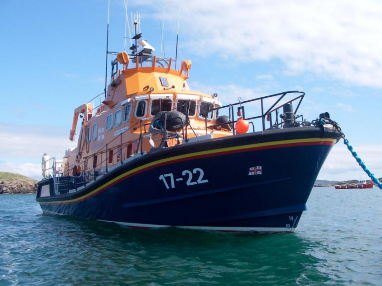 File image of Arranmore RNLI's all-weeather lifeboat
