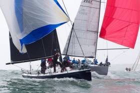 ICRA Class Zero yachts racing at last year's National Championships at Royal Cork Yacht Club