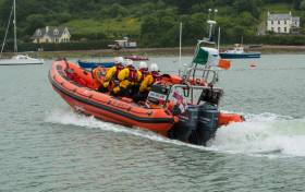 Crosshaven RNLI's inshore lifeboat John and Janet