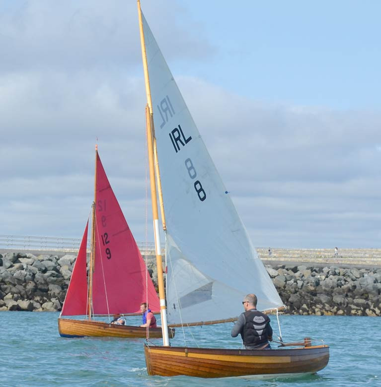 International 12 Championship racing at Dun Laoghaire Harbour