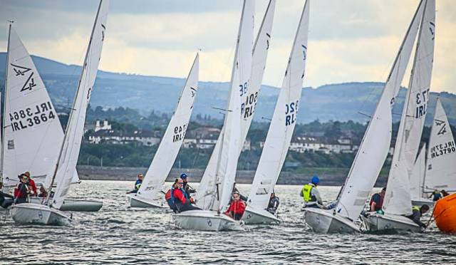 The Flying Fifeens are invited to Howth Yacht Club next May for 'Ireland's Premier Sportsboat Regatta'