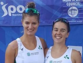 Monika Dukarska and Aileen Crowley