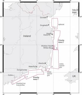 Map of the GESS survey starting later this month