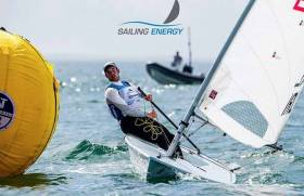 Finn Lynch made the medal race in Miami - watch live below from 20.30