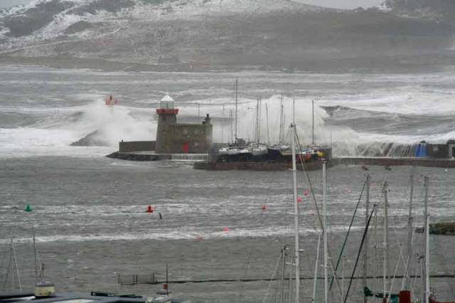 Howth Sailing Life Resumes After Storm Emma