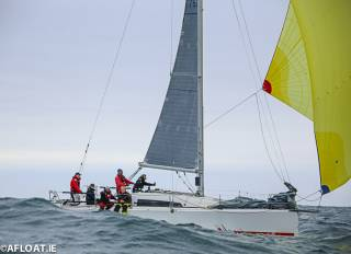 The Sunfast 3600 Hot Cookie (John O'Gorman) was the DBSC Combined Cruisers Echo winner