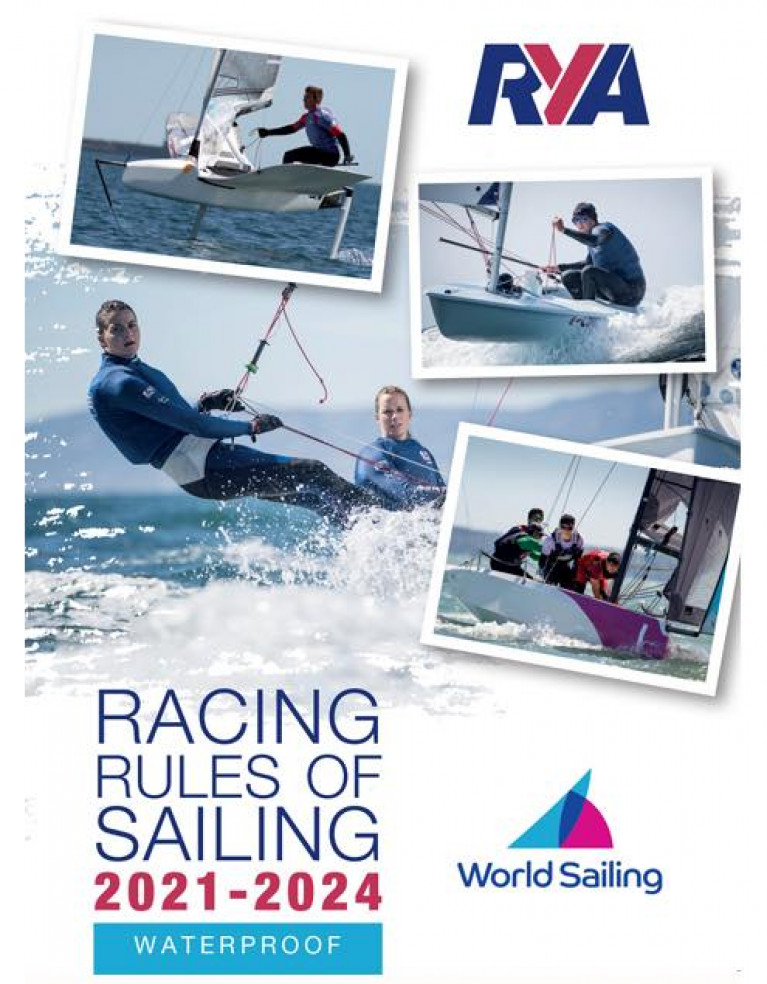 Racing Rules of Sailing 2021-2024 RYA Edition is Out Now