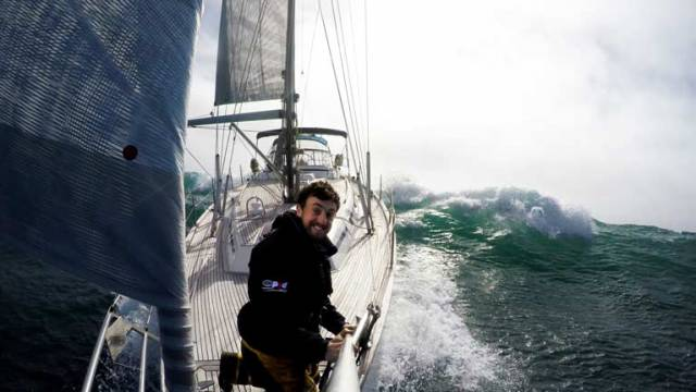 Countdown for Dubliner to Become First Irish Man to Sail Non-Stop Single Handed Round the World