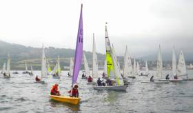 43 boats and over 70 junior sailors enjoyed four races at Bray Sailing Club Junior Regatta